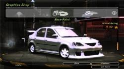 Dacia Logan 1.6 MPi для NFS Undeground 2