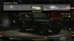 1988 Jeep Wrangler для NFS Undeground 2