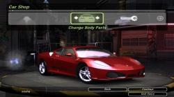 Ferrari F430 Spyder для NFS Undeground 2