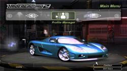 Koenigsegg CCX для NFS Undeground 2
