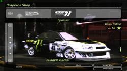 Пак винилов для Subaru Impreza WRX для NFS Underground 2