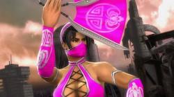 Розовый костюм для Китаны в Mortal Kombat Komplete Edition