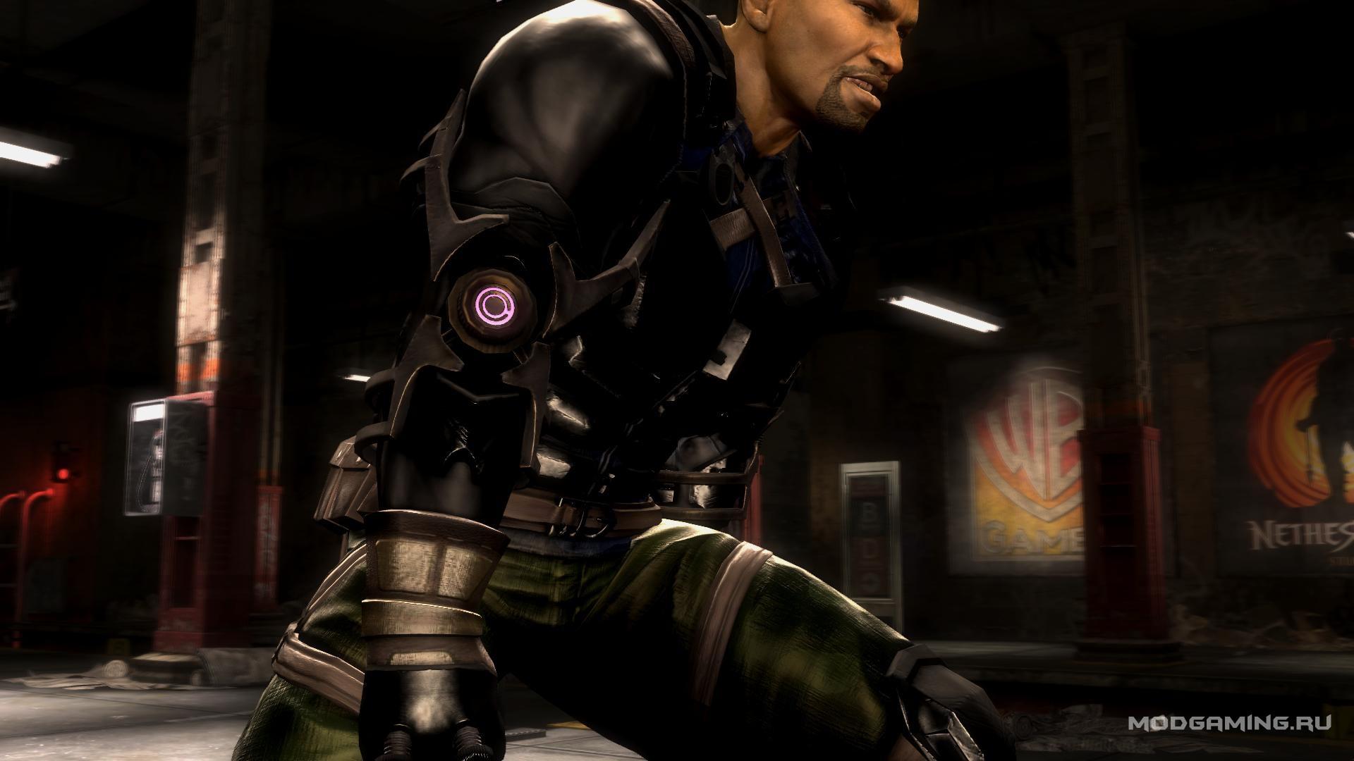Джакс из сериала MK Legacy в Mortal Kombat Komplete Edition
