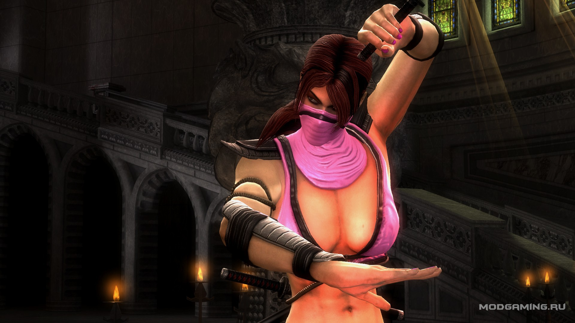 Mortal kombat nude skins exposed pussy sexy photo