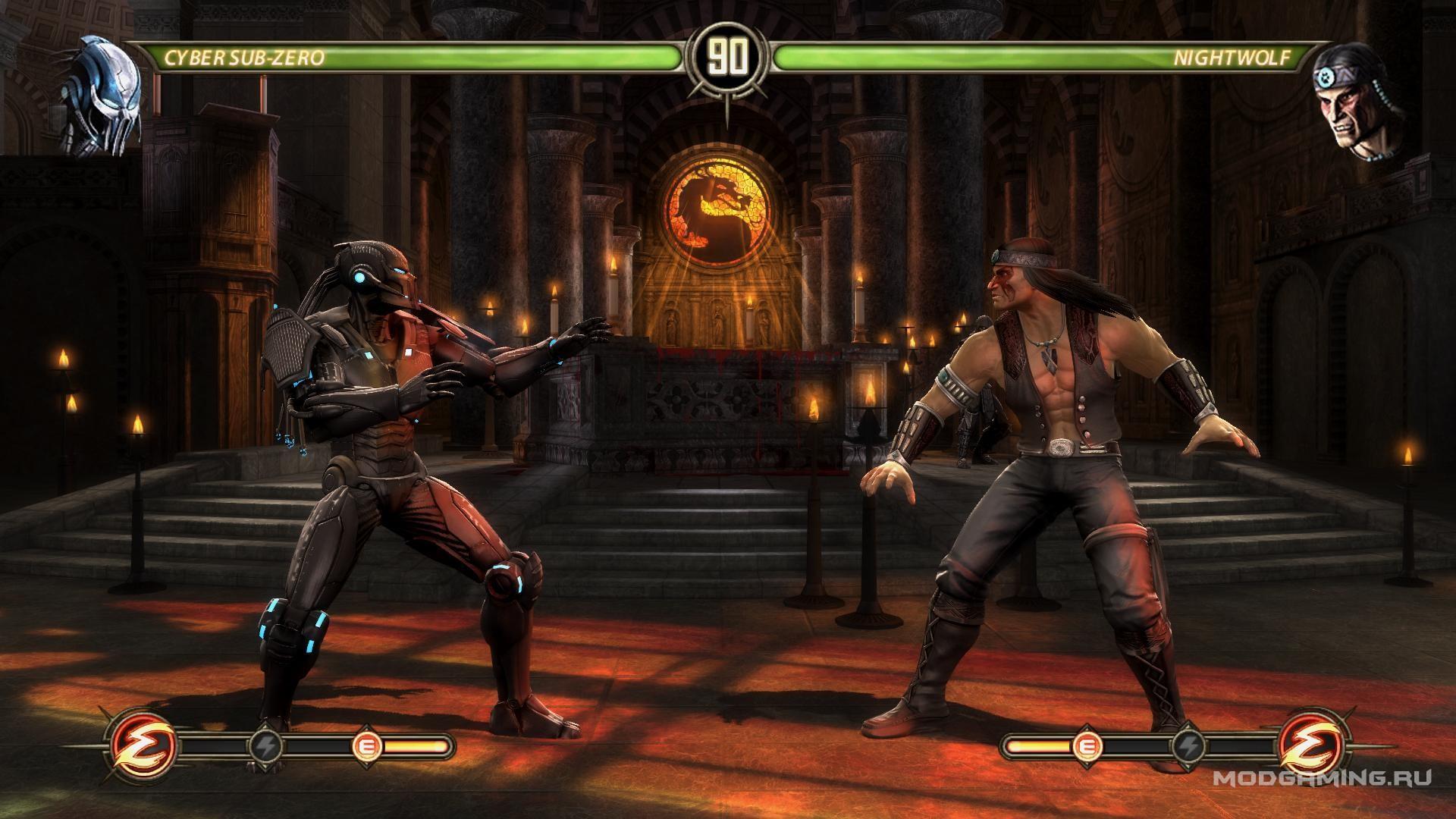 Скачать мод Mortal Kombat Complete Edition — Саб-Зиро из