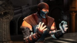 Скин Sub-Zero из Mortal Kombat Shaolin Monks