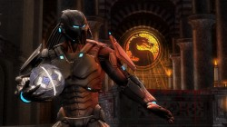 Серый костюм Кибер Саб-Зиро в Mortal Kombat Komplete Edition