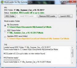 MSC Mod Loader 0.3.5