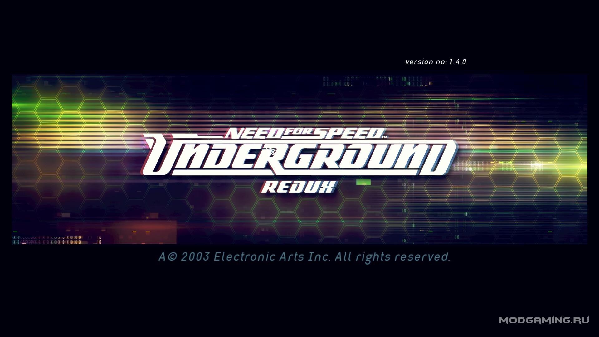 need for speed underground 2 redux