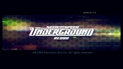 Need For Speed Underground Redux 2017