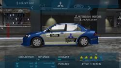 Винил Lancer WRC 2004