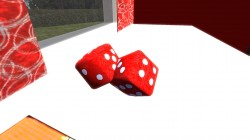 Красные кубики