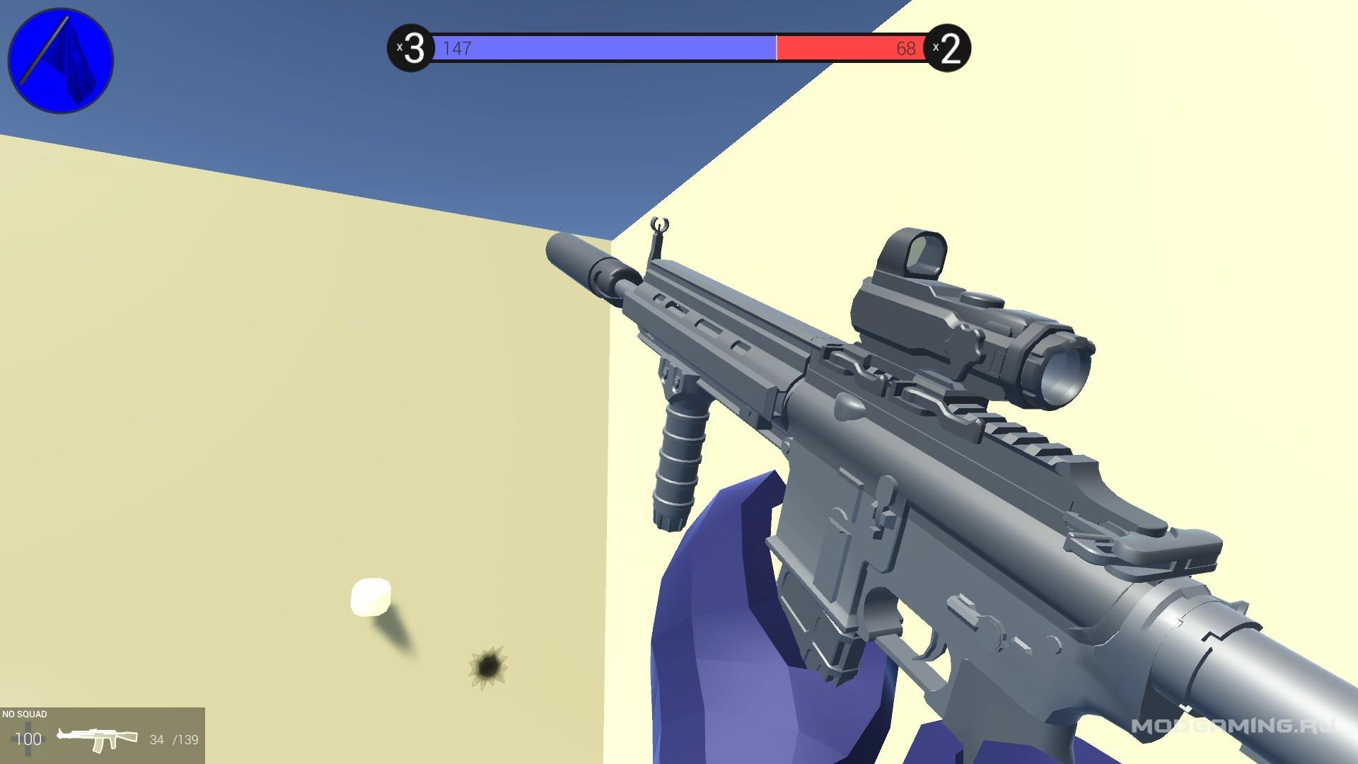 Винтовка HK-416