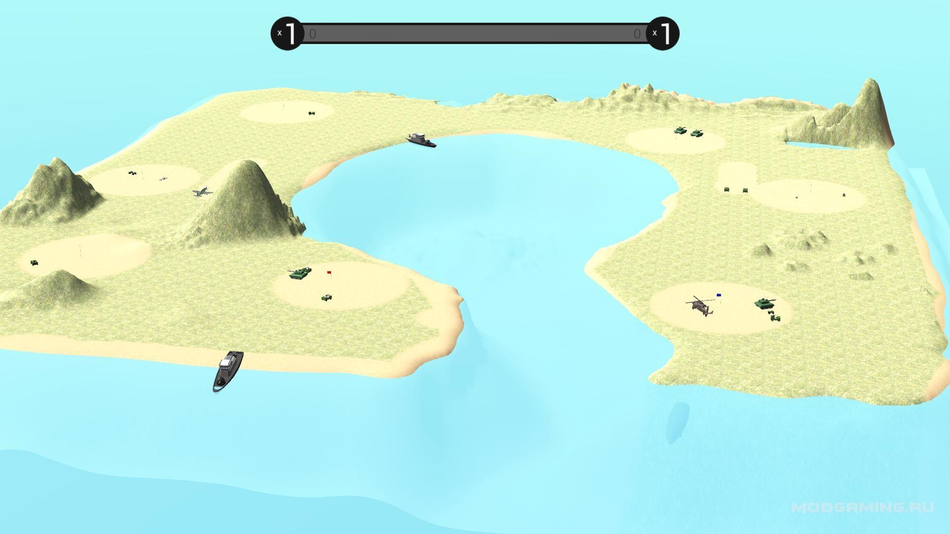Карта Waifer Island
