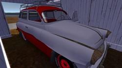 Красно-белый чистый Ruscko